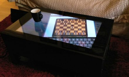 The High Tech Luxury Gadget Of The Season is The Jigabyte Touch Screen Coffee Table