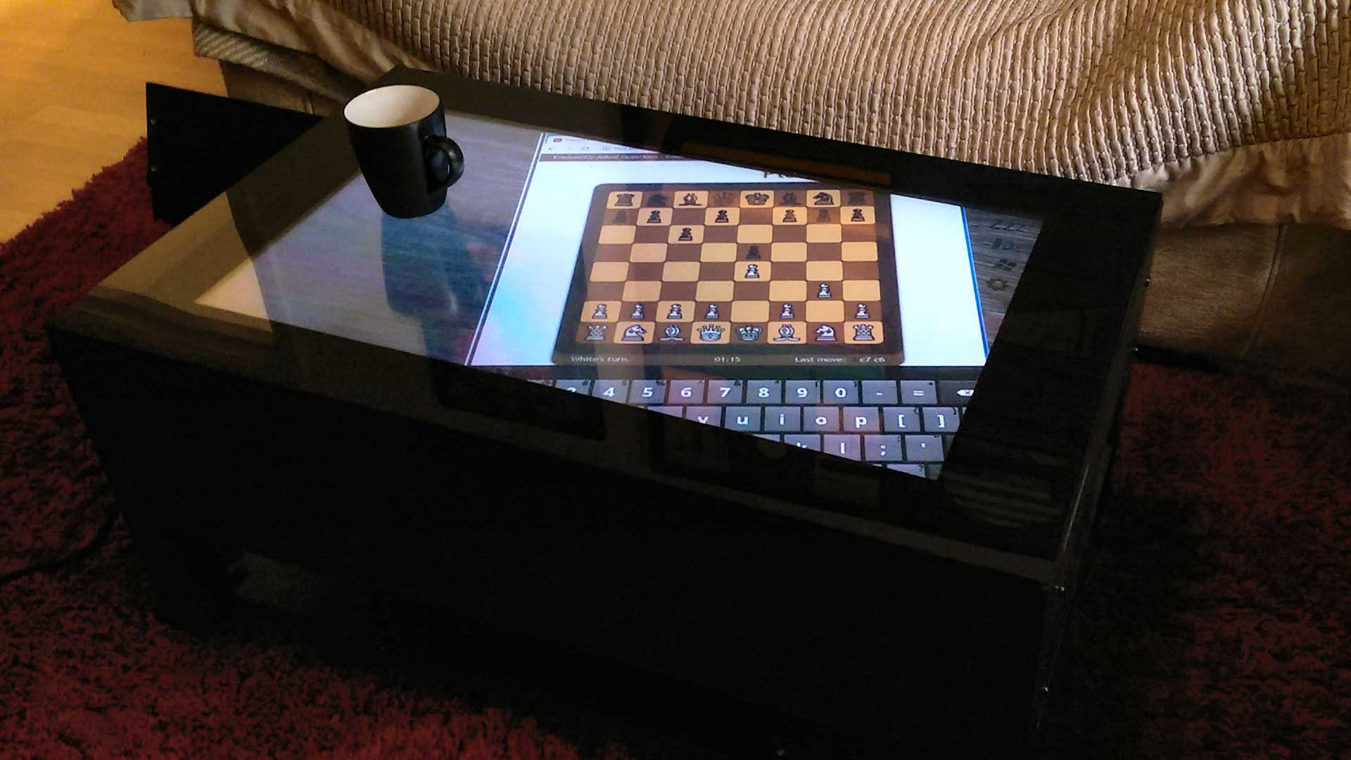 The High Tech Luxury Gadget Of The Season is The Jigabyte Touch Screen Coffee Table 1