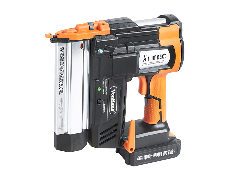VonHaus 2-in-1 Cordless Brad Nailer & Stapler Kit