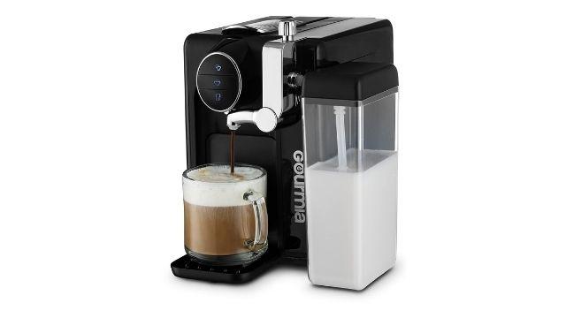 Gourmia GCM6500 1 Touch Automatic Espresso Cappuccino & Latte Maker