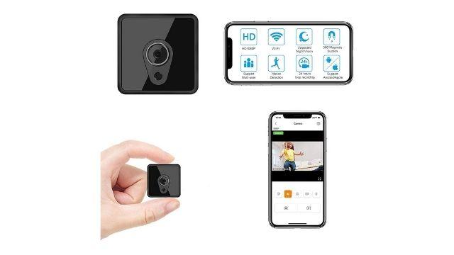 Mini Spy Camera WiFi, Relohas HD 1080P Spy Camera Wireless Hidden Live Streaming
